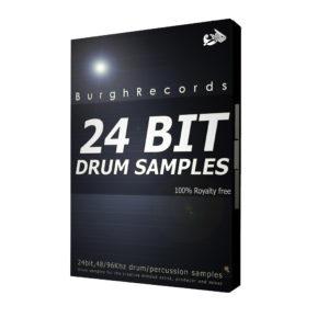 24 Bit Drum Samples