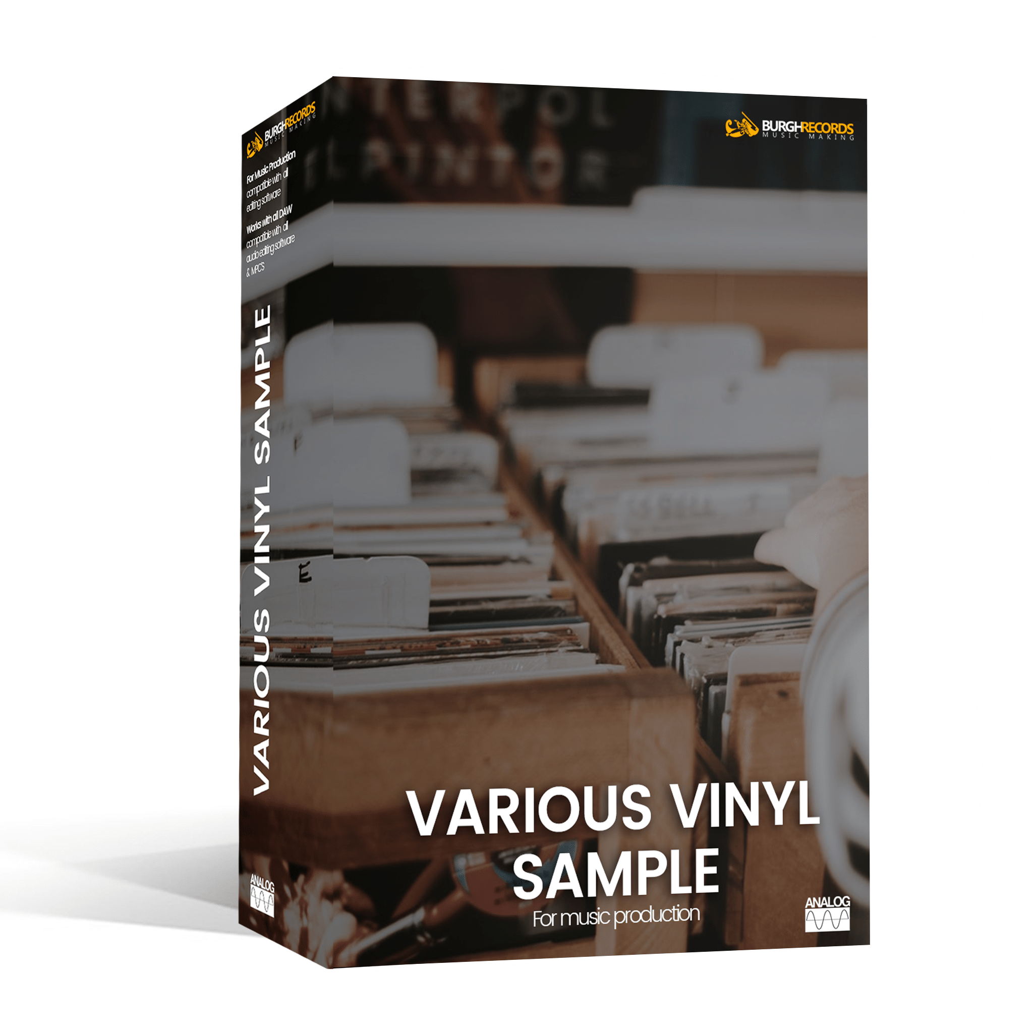 Various Vinyl Samples Burghrecords Music Production
