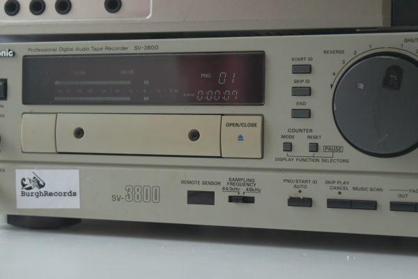 SV-3800 DAT Tape Drums