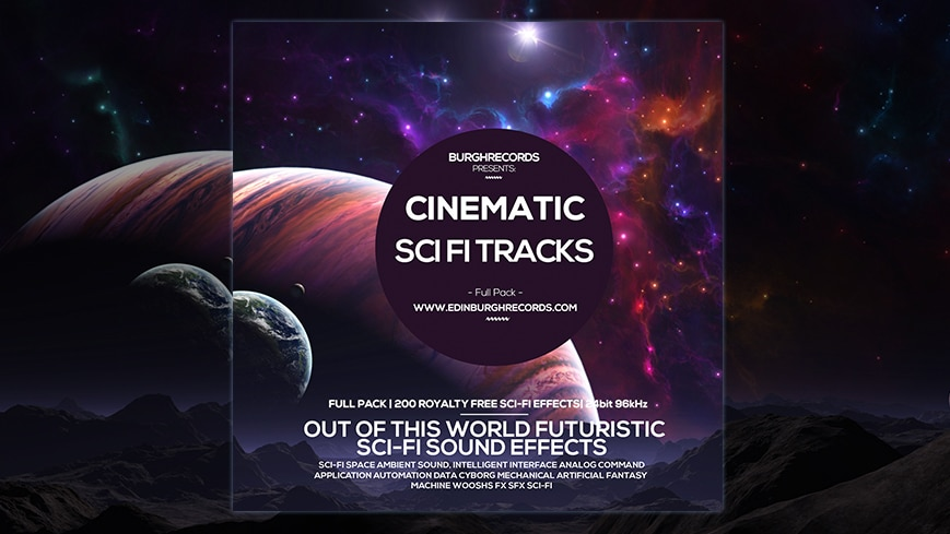Cinematic Sci Fi Sound Tracks