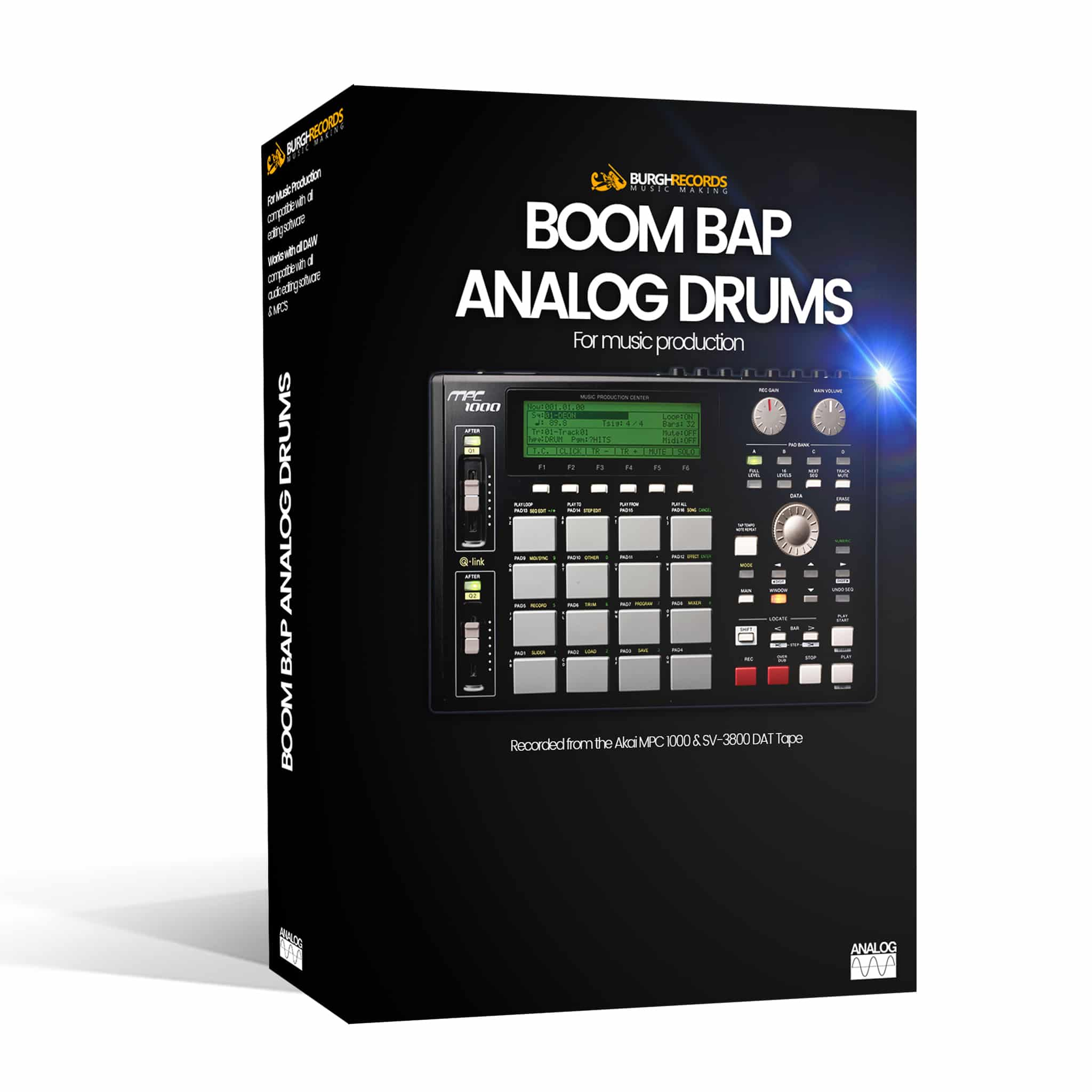 Boom Bap Analog Drums